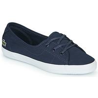Sko Dame Lave sneakers Lacoste ZIANE CHUNKY BL 2 CFA Marineblå