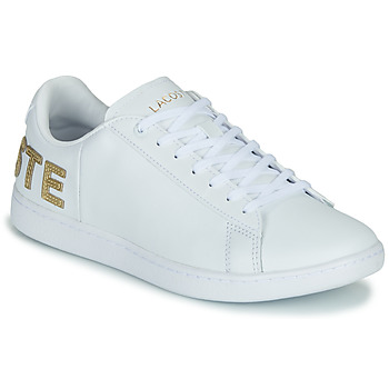 Sko Dame Lave sneakers Lacoste CARNABY EVO 120 6 US SFA Hvid / Guld