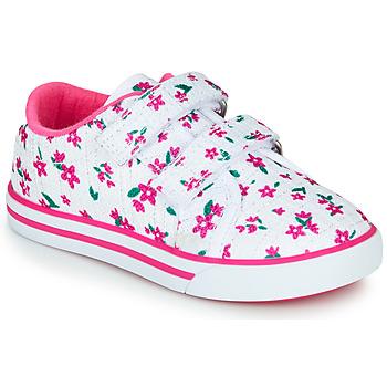 Sko Pige Lave sneakers Chicco FRANCY Hvid / Pink