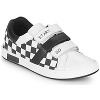 Sko Dreng Lave sneakers Chicco CANDITO Hvid / Sort