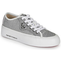 Sko Dame Lave sneakers Emporio Armani X3X109-XL487 Sølv