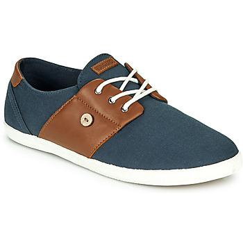 Sko Herre Lave sneakers Faguo CYPRESS Marineblå / Brun