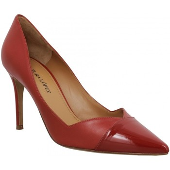 Sko Dame Højhælede sko Pura Lopez 123935 Rød