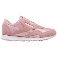 Sko Pige Lave sneakers Reebok Sport CL Nylon Pink