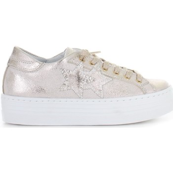 Sko Dame Lave sneakers Two Star 2SD2439 Bronzo
