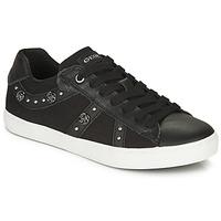 Sko Pige Lave sneakers Geox J KILWI GIRL Sort