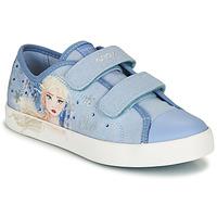 Sko Pige Lave sneakers Geox JR CIAK GIRL Blå