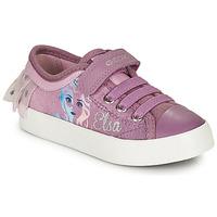 Sko Pige Lave sneakers Geox JR CIAK GIRL Violet