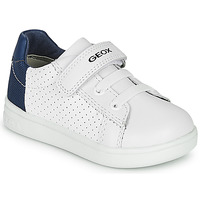 Sko Dreng Lave sneakers Geox B DJROCK BOY Hvid / Blå