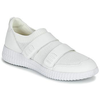 Sko Dame Lave sneakers Geox D NOVAE Hvid