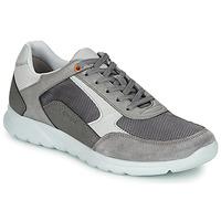 Sko Herre Lave sneakers Geox U ERAST Grå / Hvid / Orange