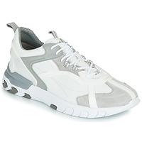 Sko Herre Lave sneakers Geox U GRECALE Hvid / Grå