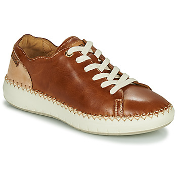 Sko Dame Lave sneakers Pikolinos MESINA W6B Brun / Beige