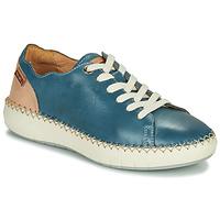 Sko Dame Lave sneakers Pikolinos MESINA W6B Blå / Pink