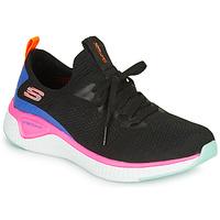 Sko Dame Fitness / Trainer Skechers SOLAR FUSE Sort / Pink / Blå