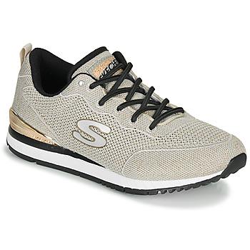 Sko Dame Lave sneakers Skechers SUNLITE MAGIC DUST Grå / Guld