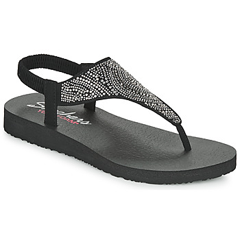 Sko Dame Sandaler Skechers MEDITATION Sort