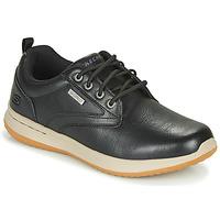 Sko Herre Lave sneakers Skechers DELSON ANTIGO Sort