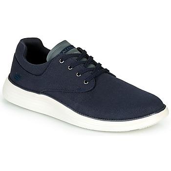 Sko Herre Lave sneakers Skechers STATUS 2.0 BURBANK Marineblå