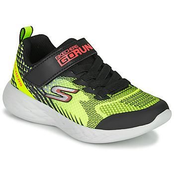 Sko Dreng Multisportsko Skechers GO RUN 600 BAXTUX Sort / Gul