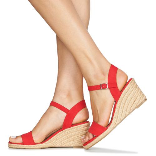 LIVIA  Tamaris  sandaler  dame  rød uXyTr