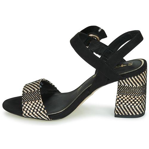 CALLIE  Tamaris  sandaler  dame  sort dlfmj