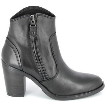 Sko Dame Høje støvletter Porronet Boots Acap Noir Sort