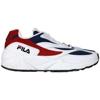 Sko Dame Lave sneakers Fila V94M Low Hvid, Rød