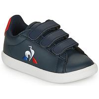 Sko Børn Lave sneakers Le Coq Sportif COURTSET INF Marineblå / Rød