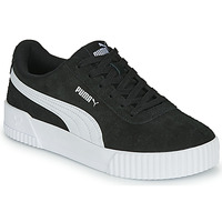 Sko Dame Lave sneakers Puma CARINA Sort