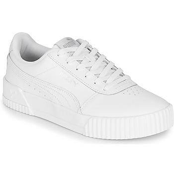 Sko Dame Lave sneakers Puma CARINA Hvid