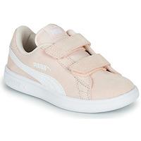 Sko Børn Lave sneakers Puma Puma Smash v2 SD V PS Pink