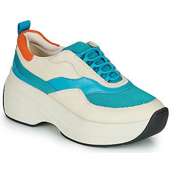Sko Dame Lave sneakers Vagabond SPRINT 2.0 Beige / Blå
