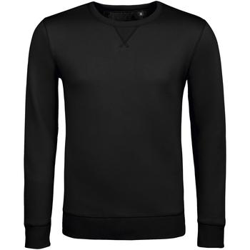 textil Herre Sweatshirts Sols SULLY CASUAL MEN Negro