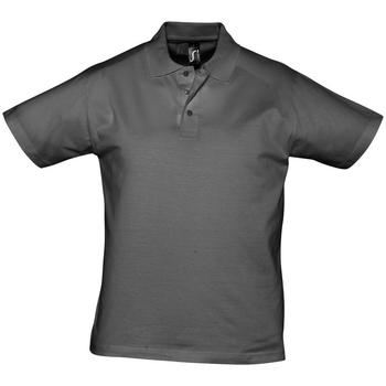 textil Herre Polo-t-shirts m. korte ærmer Sols PRESCOTT CASUAL DAY Gris