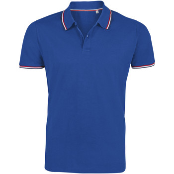 textil Herre Polo-t-shirts m. korte ærmer Sols PRESTIGE MODERN MEN Azul