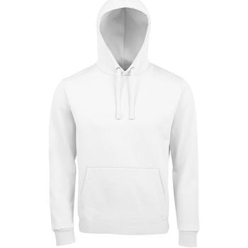 textil Herre Sweatshirts Sols SPENCER KANGAROO MEN Blanco