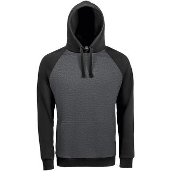 textil Herre Sweatshirts Sols SEATTLE KANGAROO MEN Negro