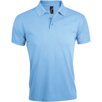 textil Herre Polo-t-shirts m. korte ærmer Sols PRIME ELEGANT MEN Azul