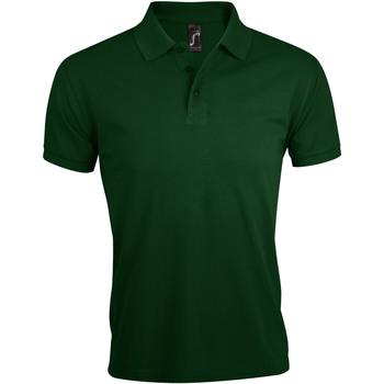 textil Herre Polo-t-shirts m. korte ærmer Sols PRIME ELEGANT MEN Verde