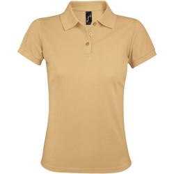 textil Dame Polo-t-shirts m. korte ærmer Sols PRIME ELEGANT WOMEN Marrón
