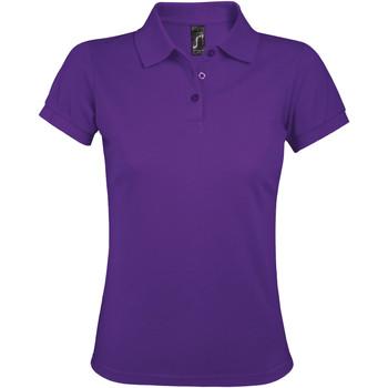 textil Dame Polo-t-shirts m. korte ærmer Sols PRIME ELEGANT WOMEN Violeta