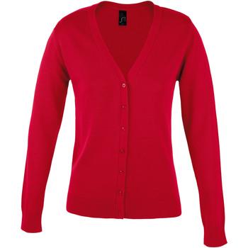 textil Dame Veste / Cardigans Sols GOLDEN ELEGANT WOMEN Rojo