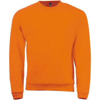 textil Herre Sweatshirts Sols SPIDER CITY MEN Naranja