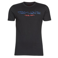 textil Herre T-shirts m. korte ærmer Teddy Smith TICLASS Sort