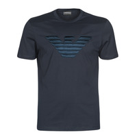 textil Herre T-shirts m. korte ærmer Emporio Armani DOUNIA Marineblå