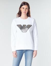 textil Dame Sweatshirts Emporio Armani DJIMMY Hvid