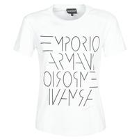 textil Dame T-shirts m. korte ærmer Emporio Armani DONOVANN Hvid