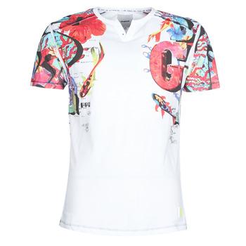 textil Herre T-shirts m. korte ærmer Desigual LIAN Flerfarvet