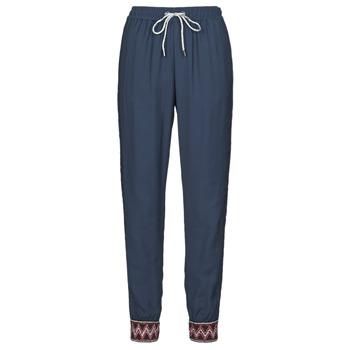textil Dame Løstsiddende bukser / Haremsbukser Desigual ISABELLA Marineblå